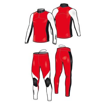 Комбинезон гоночный KV+ Lahti 7V118.3 красный/черный