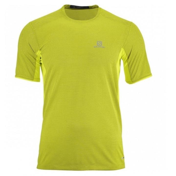 Футболка SALOMON TRAIL RUNNER SS 40355700 yellow