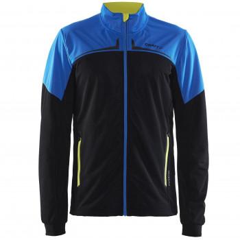 Куртка разминочная Craft Intensity XC 1904238 9355 черн/син/желт