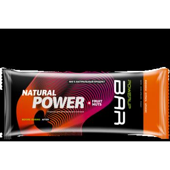 Энергетический батончик POWERUP BAR FRUIT+NUTS арахис