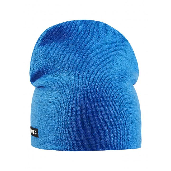 Шапка Craft Solid Knit 1905546 355000 синий