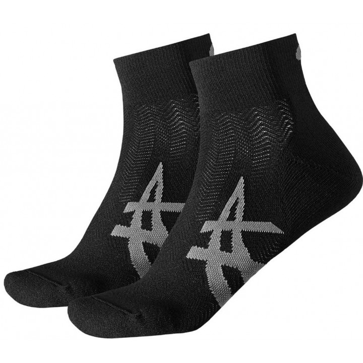 Носки комплект Asics 2PPK Cushioning 130886 2 пары 0904 черный