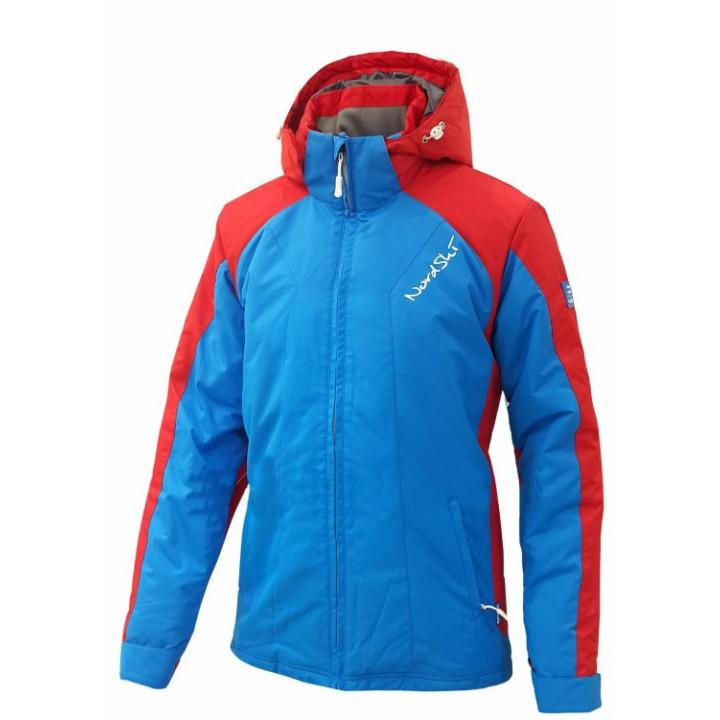 Куртка утепленная NordSki National NSM429790 голубой