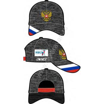 Кепка KV+ NATIONAL PODIUM 20U152.1 grey melange rus
