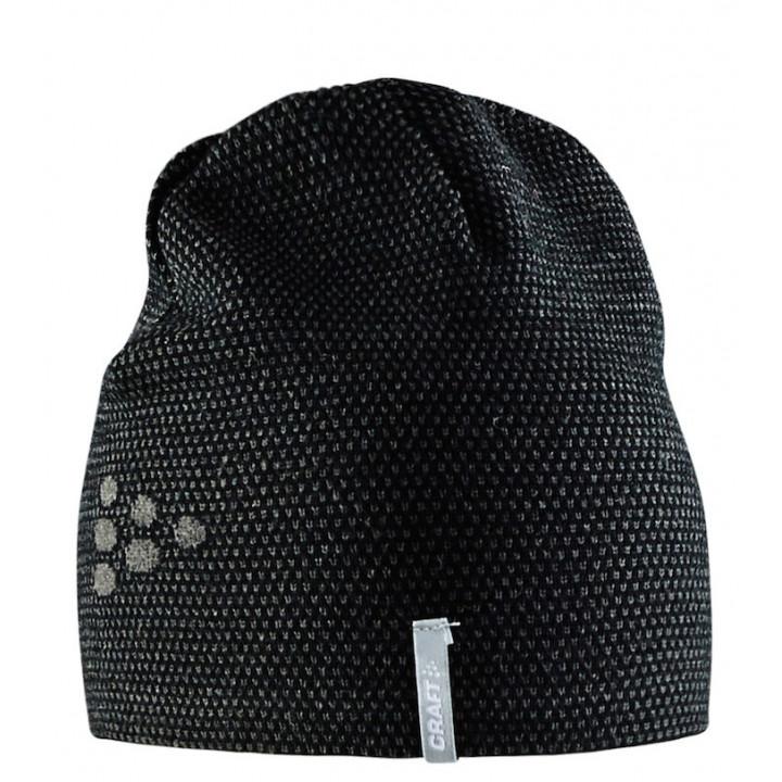Шапка Craft Knit Star 1905671 999985 черн