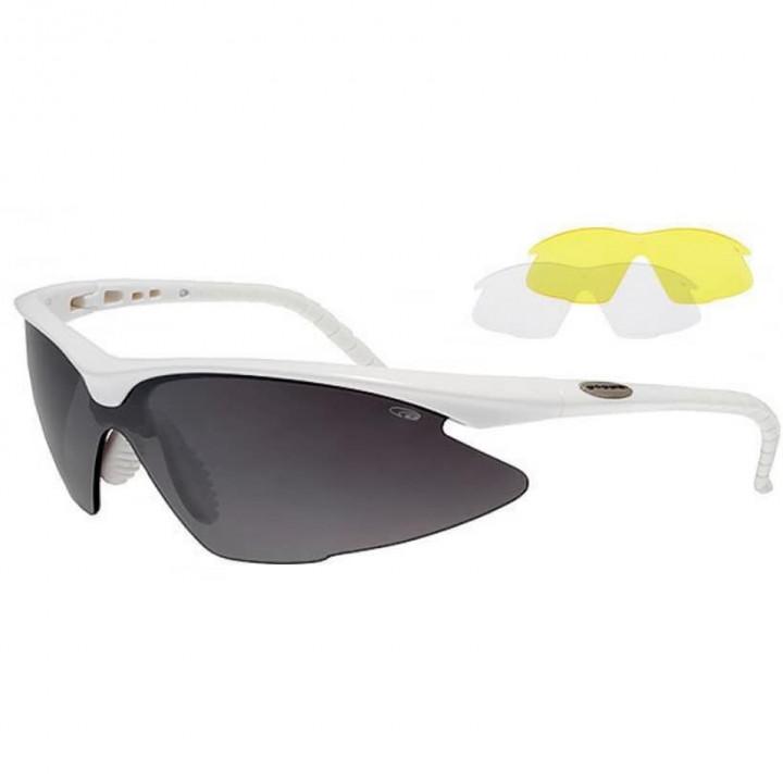 Очки GOGGLE BREND E680-3 сменные линзы 3шт. white