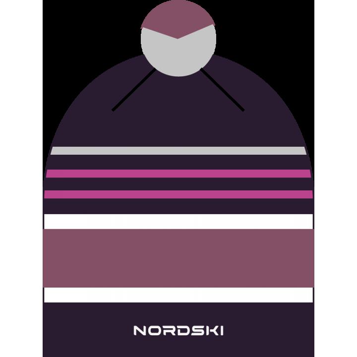 Шапка NordSki BRIGHT NSV473990 violet