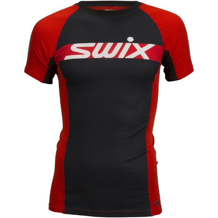 Футболка Swix RACEX CARBON SS 40651 99992 ярко-красный