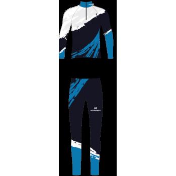 Комбинезон гоночный NordSki PREMIUM JR. NSJ434001 deep blue/white