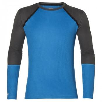 Рубашка Asics LS Top 154254 0819 синий/сер