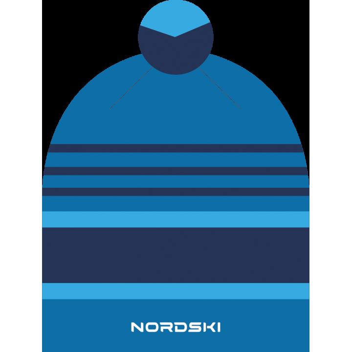 Шапка NordSki BRIGHT NSV473700 blue