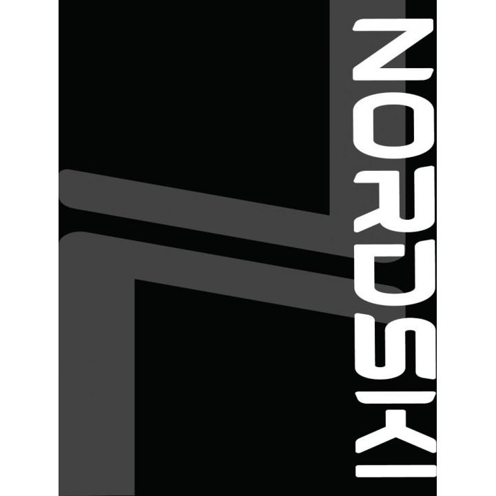 Баф NordSki LOGO NSV410100 black