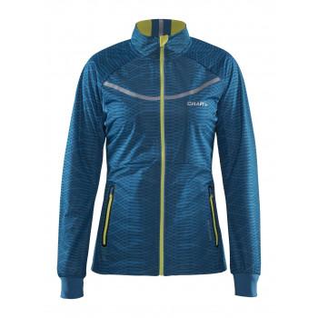 Куртка разминочная Craft Intensity XC 1904237 3102 бирюз/желт