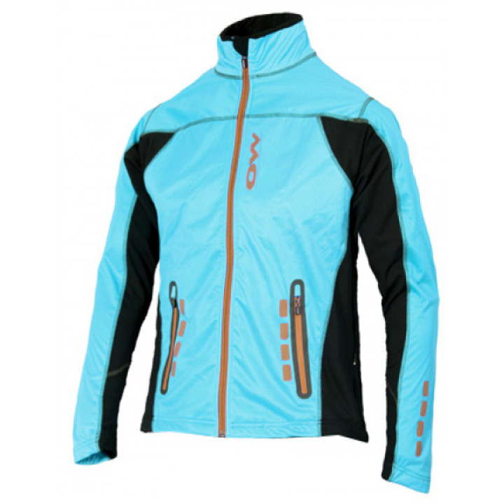 Куртка разминочная OneWay Calle голубой