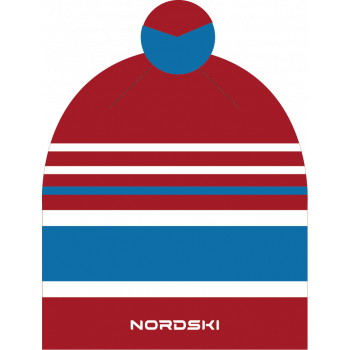 Шапка NordSki BRIGHT NSV473902 red rus