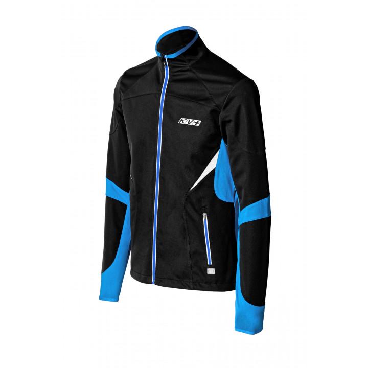 Куртка разминочная KV+ LAHTI 9V116.12 black/blue