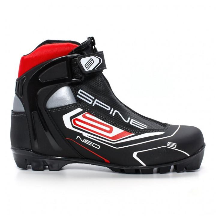 Ботинки лыжные NNN Spine Neo 2017 161 чернo/красный