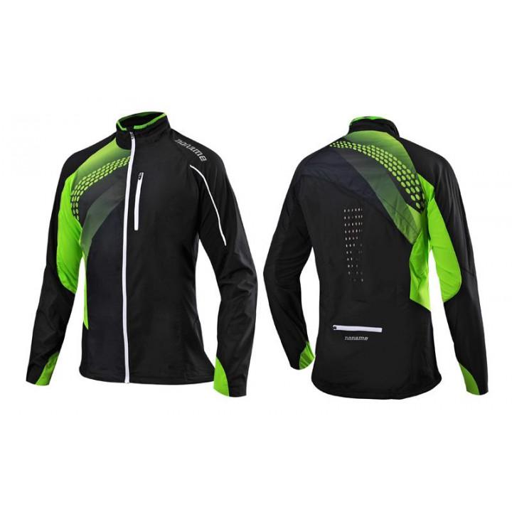 Куртка Noname Pro Running черный/лайм