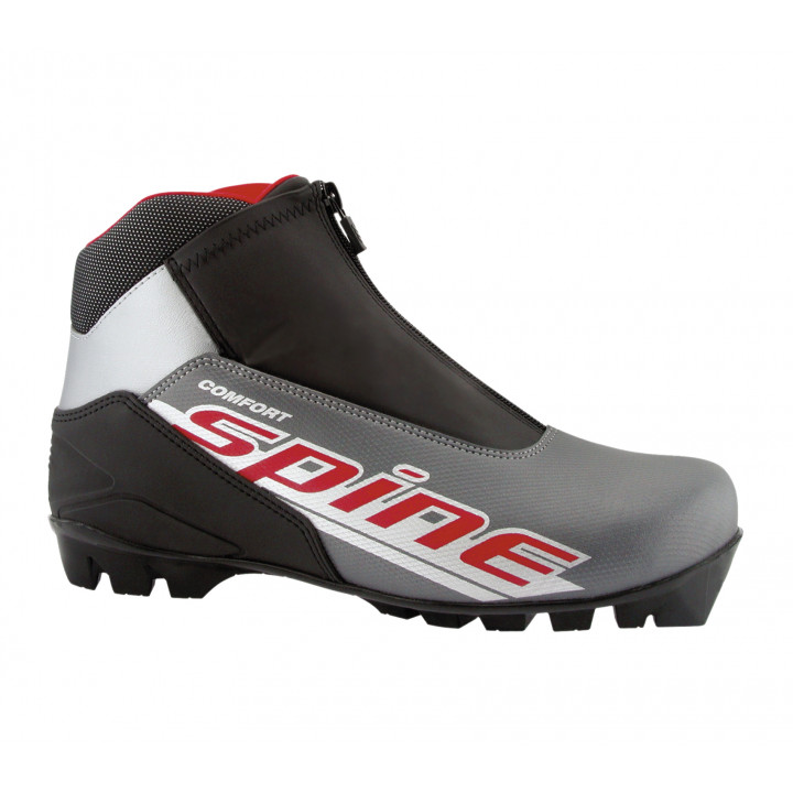 Ботинки лыжные NNN Spine Comfort 83/7 серый/черный