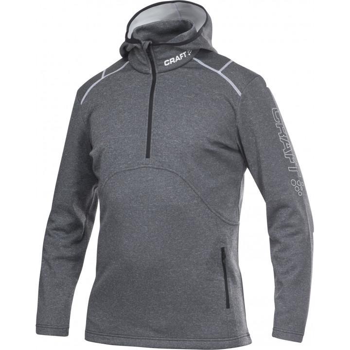 Толстовка Craft Active Logo Hood 1901681 9900 серый