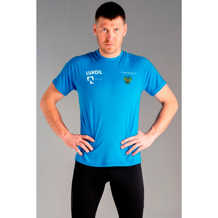 Футболка NordSki SPORT NSM598790RUS light blue RUS