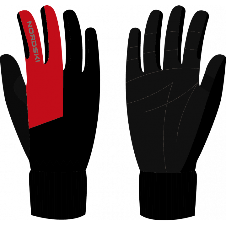 Перчатки NordSki ARCTIC NSU244190 black/red