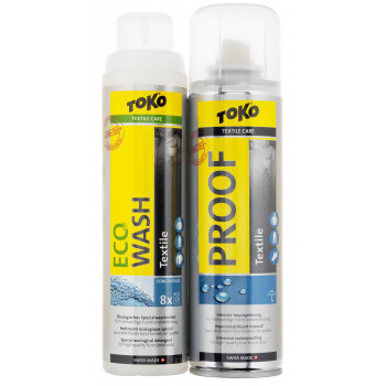 Пропитка водоотталкивающая Toko Textile Proof And Eco Textile Wash 5582504 Duo-Pack