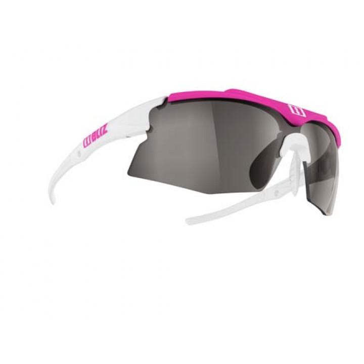 Очки Bliz TEMPO 9025-01 сменные линзы резинка white/pink