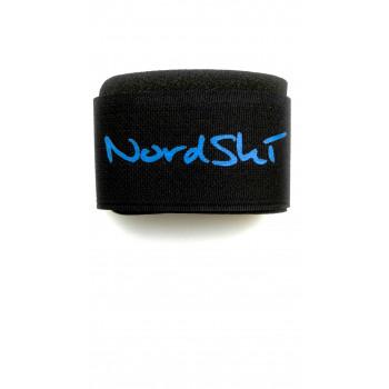 Липучки для лыж Nordski комплект связок black/blue
