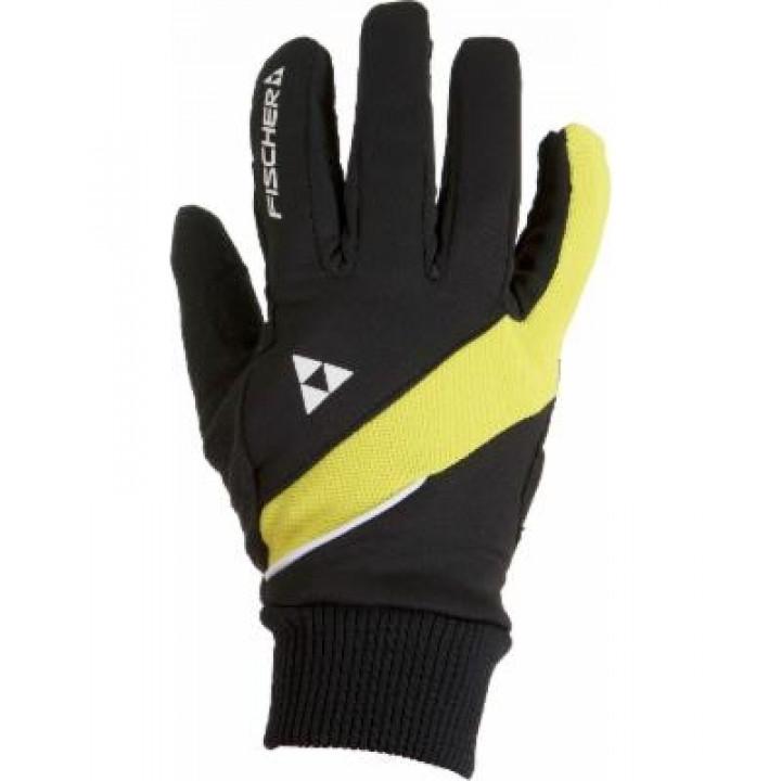 Перчатки Fischer Polar G91714-B/Y черный/желт