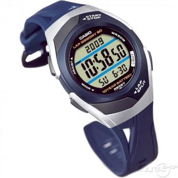 Часы Casio STR-300C-2 60 отсечек т.синий