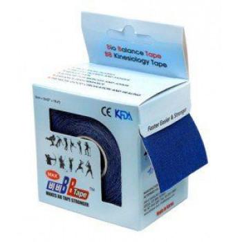 Кинезио-тейп BBTape MAX 5см5м темно-синий