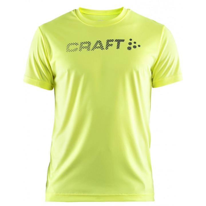 Футболка Craft Prime Run Logo 1904341 2809 лайм