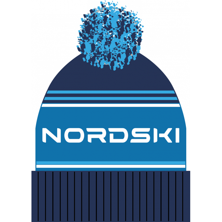 Шапка NordSki STRIPE NSV470832 dark blue