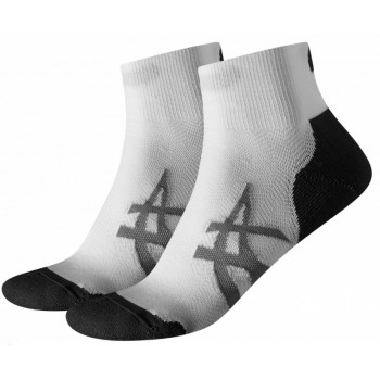Носки комплект Asics 2PPK Cushioning 130886 2 пары 0001 белый
