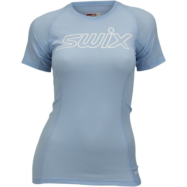 Футболка Swix RACEX LIGHT SS 40906 72108 нежно-голубой