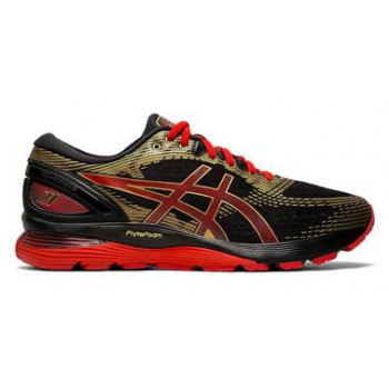 Кроссовки ASICS Gel-Nimbus 21 1011A257 001 black/classic red