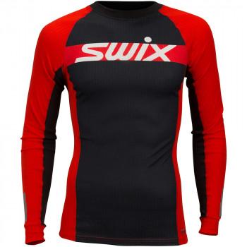 Терморубашка Swix RACEX CARBON LS 40641 99992 ярко-красный