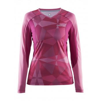 Рубашка Craft Devotion Run 1903964 2042 розовый принт