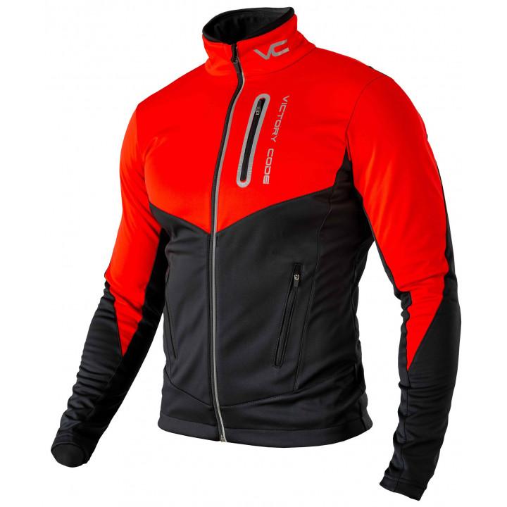 Куртка разминочная Victory Code GO FAST red