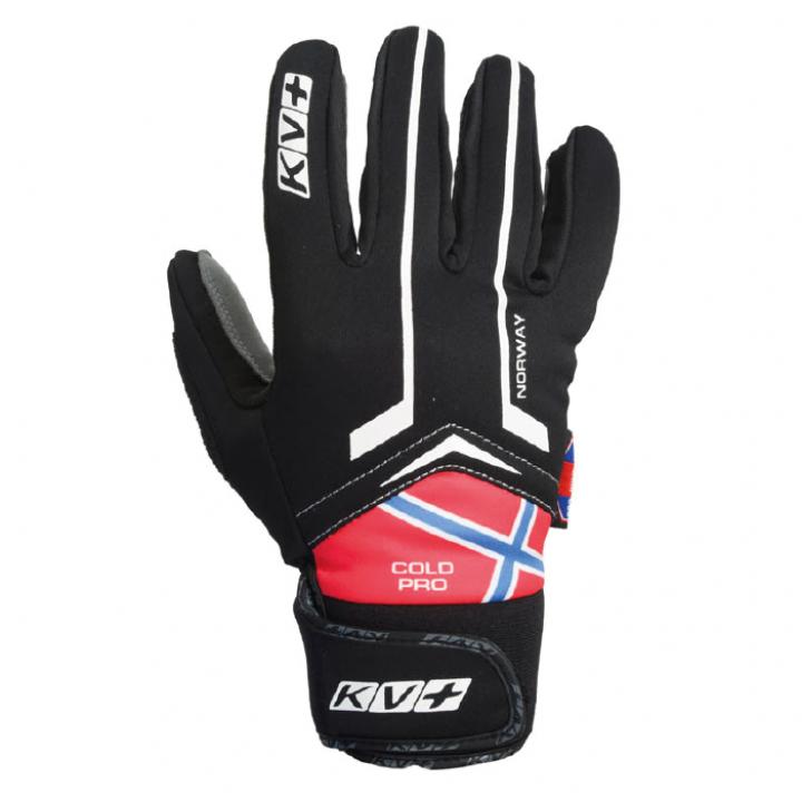 Перчатки KV+ Cold Pro Norway 7G05.N черный/красный