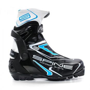 Ботинки лыжные NNN коньковые Spine Concept Skate 2017 296/1 черно-синий