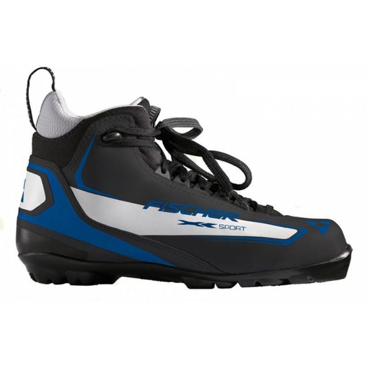 Ботинки лыжные NNN классические Fischer XC Sport Black -