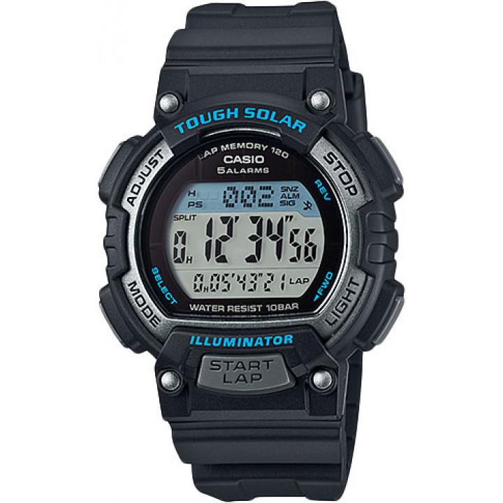 Часы Casio STL-S300H-1A 120 отсечек черный/синий