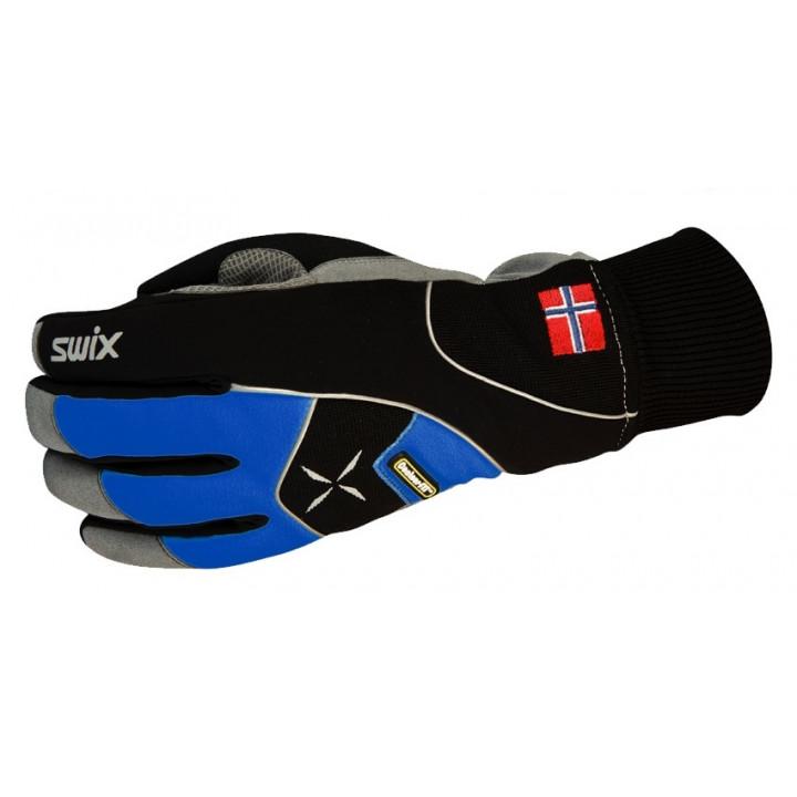 Перчатки Swix Star XC 100 синий/черный