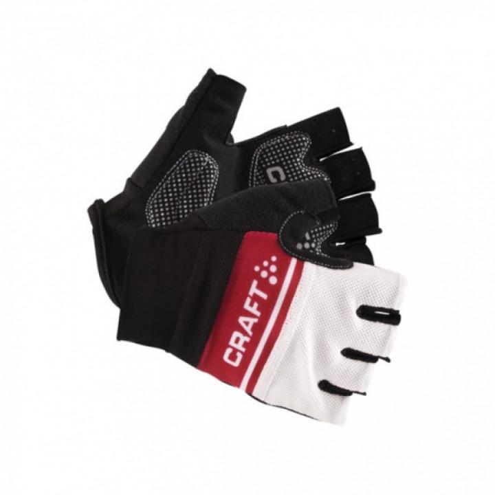 Велоперчатки Craft CLASSIC 1903304 9430 black/red