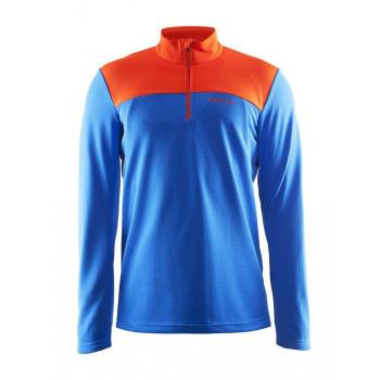 Толстовка Craft Shift Free 1903656 2336 синий/оранжевый
