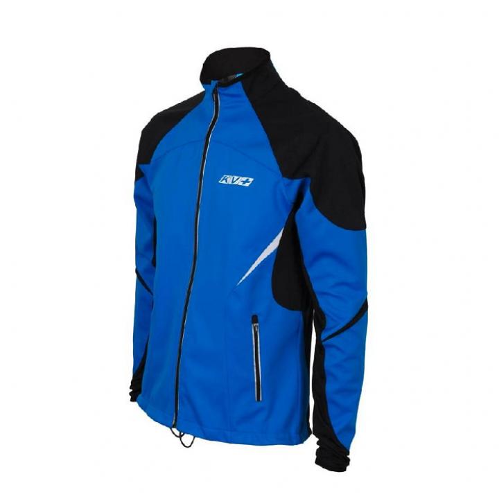 Куртка разминочная KV+ Lahti 7V116.2 синий/черн