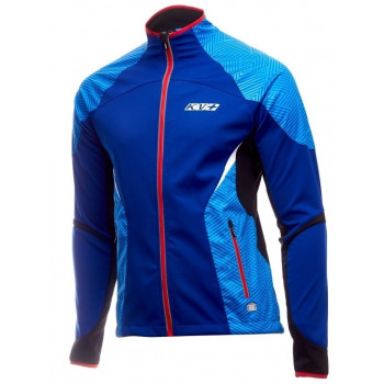 Куртка разминочная KV+ LAHTI 9V116.4 navy/blue