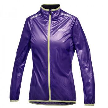Велокуртка Craft Featherlight 1901273 2462 фиолетовый/желтый